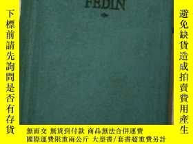 二手書博民逛書店konstantin罕見fedin early joys a n
