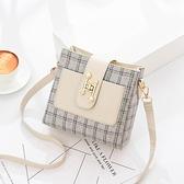 小包包女2020新款潮韓版時尚網紅質感斜挎女包簡約百搭單肩水桶包