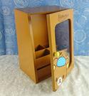 【震撼精品百貨】Rilakkuma San-X 拉拉熊懶懶熊~ 透明玻璃置物盒