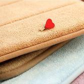 加厚記憶棉慢回彈地墊浴室衛生間地墊防滑門墊廚房吸水腳墊地毯 【開學季巨惠】