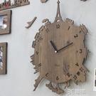 創意掛鐘客廳現代歐式時尚掛錶靜音臥室個性石英鐘HM 3C優購