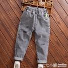 童裝男童牛仔長褲春秋季新款兒童褲子中大童時尚洋氣彈力寬鬆褲潮
