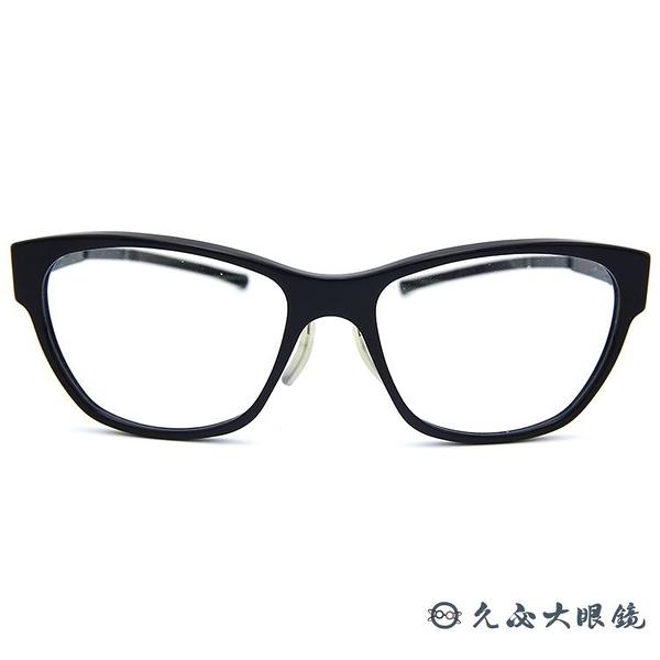 ic! berlin 薄鋼眼鏡 black hole (黑)  貓眼 近視眼鏡 久必大眼鏡 原廠公司貨