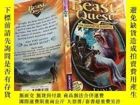 二手書博民逛書店beast罕見quest the amulet of avantla:野獸探索avantla的護身符Y2003