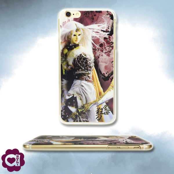 【亞古奇 X 霹靂】亂世狂刀 Apple iPhone 6/6s 超薄透硬式手機殼 3D立體印刷觸感