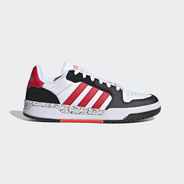 Adidas Neo Entrap [FZ1117] 男鞋 運動 休閒 籃球鞋 經典 愛迪達 白 黑紅