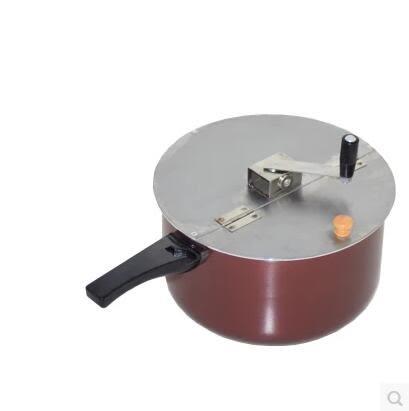 手搖爆米花機爆米花機器 手搖爆米花鍋煤氣灶電磁爐兩用 商用家用