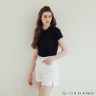 【GIORDANO】女裝厚磅棉T恤 - 01 黑色