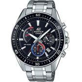 CASIO卡西歐EDIFICE三眼賽車腕錶  EFR-552D-1A3