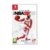 [哈GAME族]免運 可刷卡 無特典 NS NBA 2K21 美國職業籃球 2K21 歐版( 可更新中文)