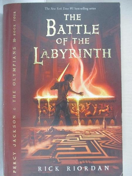 【書寶二手書T1/原文小說_GV7】The Battle of the Labyrinth_Rick Riordan