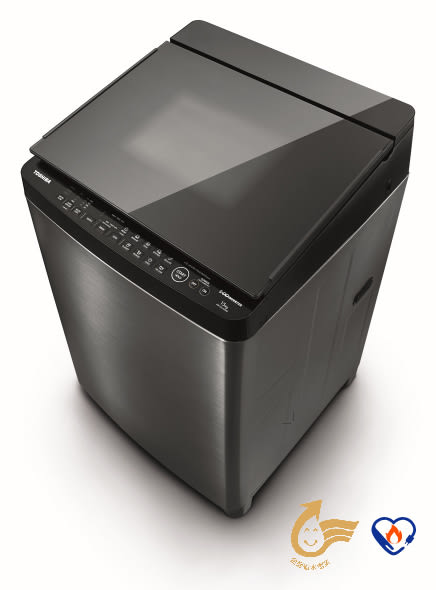 【TOSHIBA東芝】16KG 神奇鍍膜 勁流双渦輪 超變頻洗衣機 AW-DMG16WAG