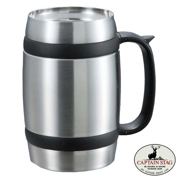 [CAPTAIN STAG] 真空二重杯啤酒杯-600ml (UE-3231)