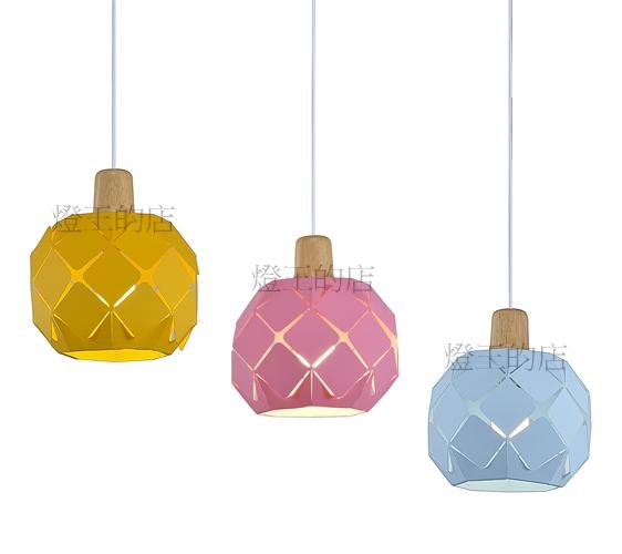 燈飾燈具【燈王的店】北歐風 馬卡龍吊燈1燈 (可加購底盤改3燈)☆ A316YE(黃)A316PK(粉紅)A316BL(藍)