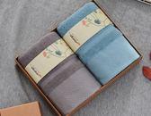 純棉柔軟吸水毛巾2條禮盒套裝商務廣告年會宣傳公司福利禮品定制   初見居家
