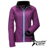Polarstar 女Fleece防風保暖外套『紫/藍綠』防風│防潑水│保暖 P16202