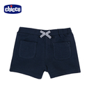 chicco-TO BE-彈性休閒短褲-藍
