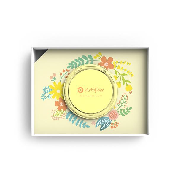 【Artificer】Rhythm for Kids 手環 - 小花 (粉黃)