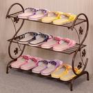鞋架簡易家用多層簡約現代經濟型鐵藝宿舍拖...