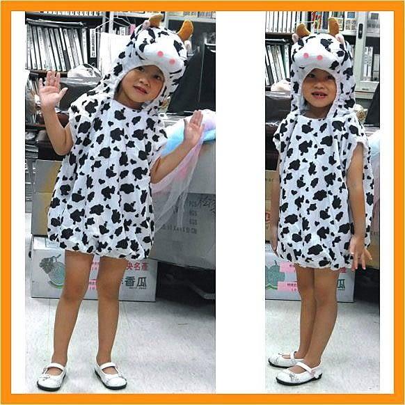 萬聖節服裝.聖誕節服裝表演服裝表演道具可愛動物服裝-牛牛