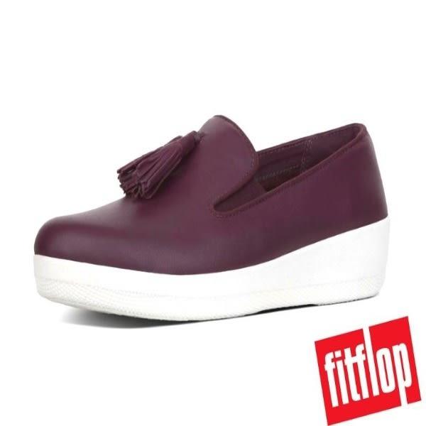 FitFlop™ TASSEL SUPERSKATE™ LOAFER 英國氣墊 樂福包鞋 - 深紫 7050