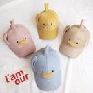寶寶秋冬帽 童帽 寶寶帽 保暖帽 小鴉造型棒球帽(2歲-8歲)【ZJA022】