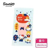 【Sanrio三麗鷗】凱蒂貓甜點夢幻世界童巾 100%棉 28x54cm