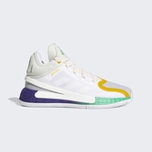 Adidas D Rose 11 [FX7401] 男鞋 運動 休閒 籃球鞋 舒適 貼合 支撐 穩定 愛迪達 白 紫