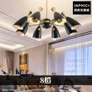 INPHIC-LED燈簡約後現代燈具北歐客廳餐廳裝潢吊燈臥室-8燈_WUEs