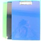 A4塑膠板夾 NO 7016CC 巴士塑膠板夾(直式 不透明)/一箱12個入(定55) 應元 MIT製 32cm x 23cm