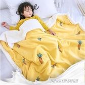 小毛毯嬰兒毛毯寶寶小毯子兒童毛毯雙層加厚冬季蓋毯新生兒小被子 傑克型男館