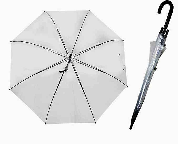 透明超大防風直傘-70CM
