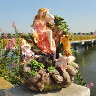 喬遷禮品基督教禮品結婚禮物水景噴泉流水工藝品天使加濕器