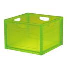 [家事達] 樹德 KD-2638  巧拼收納箱6入/箱-青色  資料筒 / 收納箱  特價