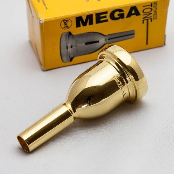 小叮噹的店- 粗管長號吹嘴(加重型) BACH K341G Mega Tone 鍍金號嘴(粗管上低音)