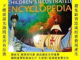 二手書博民逛書店CHILDRREN S罕見ILLUSTRATED NECYCLOPEDIA(英文原版)Y228084 不認識