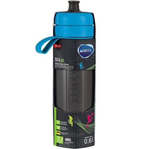德國 BRITA Fill&Go Active 運動濾水瓶 藍色 (內含濾片 1片)