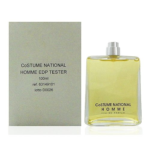 Costume National Homme 同名男香淡香精 100ml Test 包裝