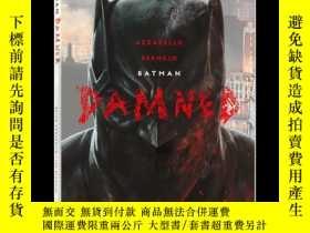 全新書博民逛書店蝙蝠俠詛咒 英文原版 Batman Damned 小醜結局 DC黑標系列 Brian Azzarello 布賴恩阿