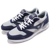 Mizuno 休閒慢跑鞋 GV87 藍 灰 麂皮 男鞋 復古 運動鞋【PUMP306】 D1GA1806-14