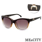 ME&CITY 永恆之翼時尚太陽眼鏡 義大利設計款 抗UV400 (ME 120031 J021)