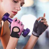運動手套女騎行鍛煉半指單車訓練透氣防滑耐磨薄瑜伽健身房手套女【全館免運可批發】