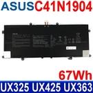ASUS C41N1904 4芯 華碩 電池 ZenBook UX425EA UX425J UX425JA X435EA UX393JA UX363EA UX371 UX371EA UX393 UX393EA