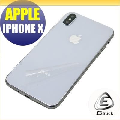 【Ezstick】APPLE IPhone X IX 專用 二代透氣機身保護貼 (機身背貼) DIY 包膜