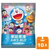 盛香珍 哆啦A夢果味果凍 綜合口味 420g (10入)/箱【康鄰超市】