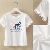女童短袖T恤2020夏裝新款中大童洋氣休閒上衣兒童夏季圓領打底衫 小城驛站