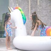 618好康鉅惠 兒童泳衣女孩公主裙式連體韓國游泳衣