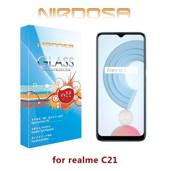 【愛瘋潮】NIRDOSA realme C21 9H 鋼化玻璃 螢幕保護貼 手機貼 強化玻璃 旭肖子