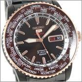 【萬年鐘錶】SEIKO 5號機械 130紀念 限量全黑鋼錶 SRP132J1(4R36-00H0SD)