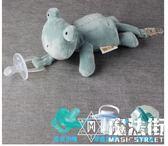 進口安睡型安撫奶嘴寶寶玩偶動物毛絨玩具硅膠可拆卸 魔法街